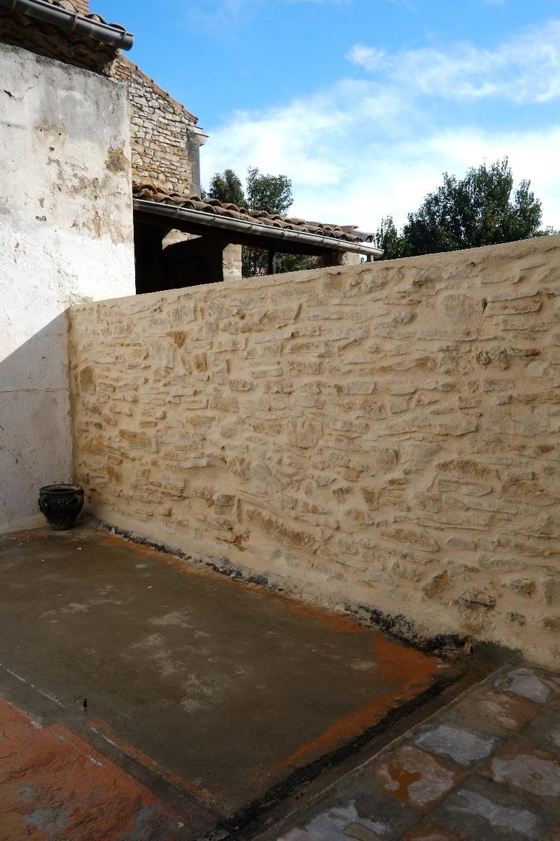 Vente maison de ville en pierre avec garage r nover for Garage ad la bresse