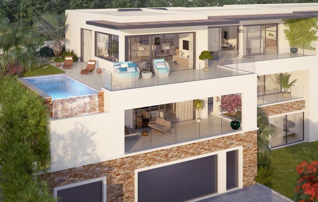 Offres programmes neufs villa de prestige 277 7m2 vue mer for Garage didier marseille